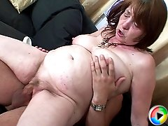 Her son in law uses his dick to fuck her mature pussy before his wife catches them